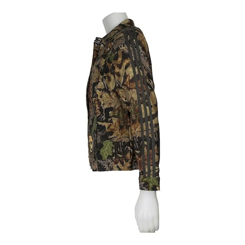 Adidas Womens Montana Camo Athletic Outerwear Jacket