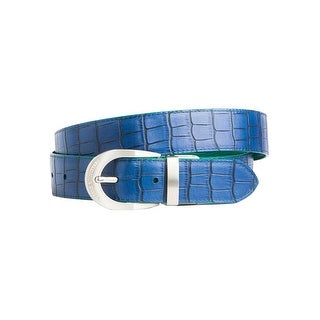 Noble Outfitters English Belt Womens Leather Lizard Croc 29507