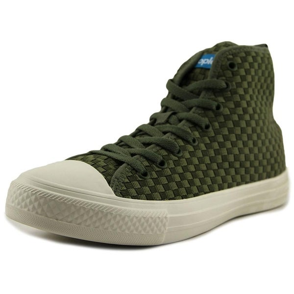 People Footwear The Phillips High Men Expedition Green/Picket White Sneakers Shoes