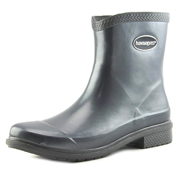 Havaianas Hav Mid Metallic Rain Boot Women Dark Grey Snow Boots