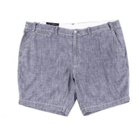 Polo Ralph Lauren Mens Straight Fit Chambray Shorts