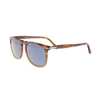 Persol PO3113S 102556 2N Medium Havana Round Sunglasses - 54-18-145