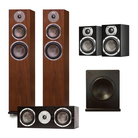 "KLH Quincy 5.1 Speaker System with Windsor 10"" Subwoofer"