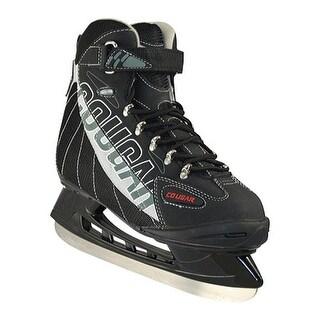 American Children's Cougar Softboot Hockey Skate Grey/Black