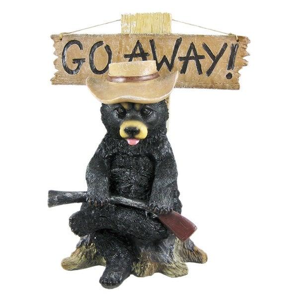 Exceptionnel U0026#x60;Go Awayu0026#x60; Country Bear Un Welcome Garden Statue