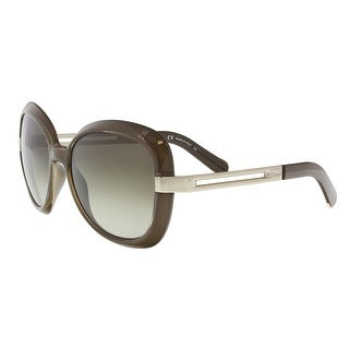 Chloe CE706S 304 Dark Khaki Modified Rectangle Sunglasses - 57-18-135