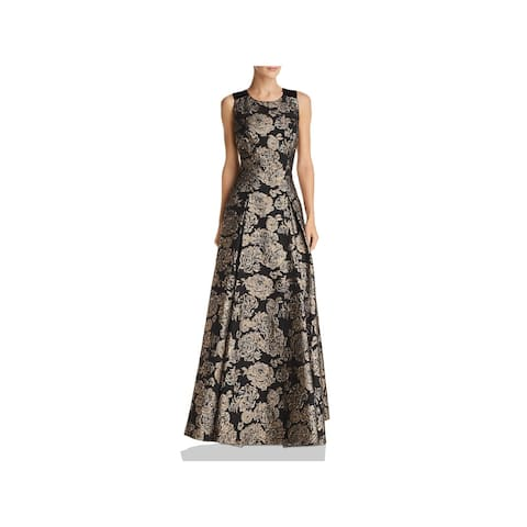 Eliza J Womens SLVLESS BALL GOWN Evening Dress Formal Embroidered