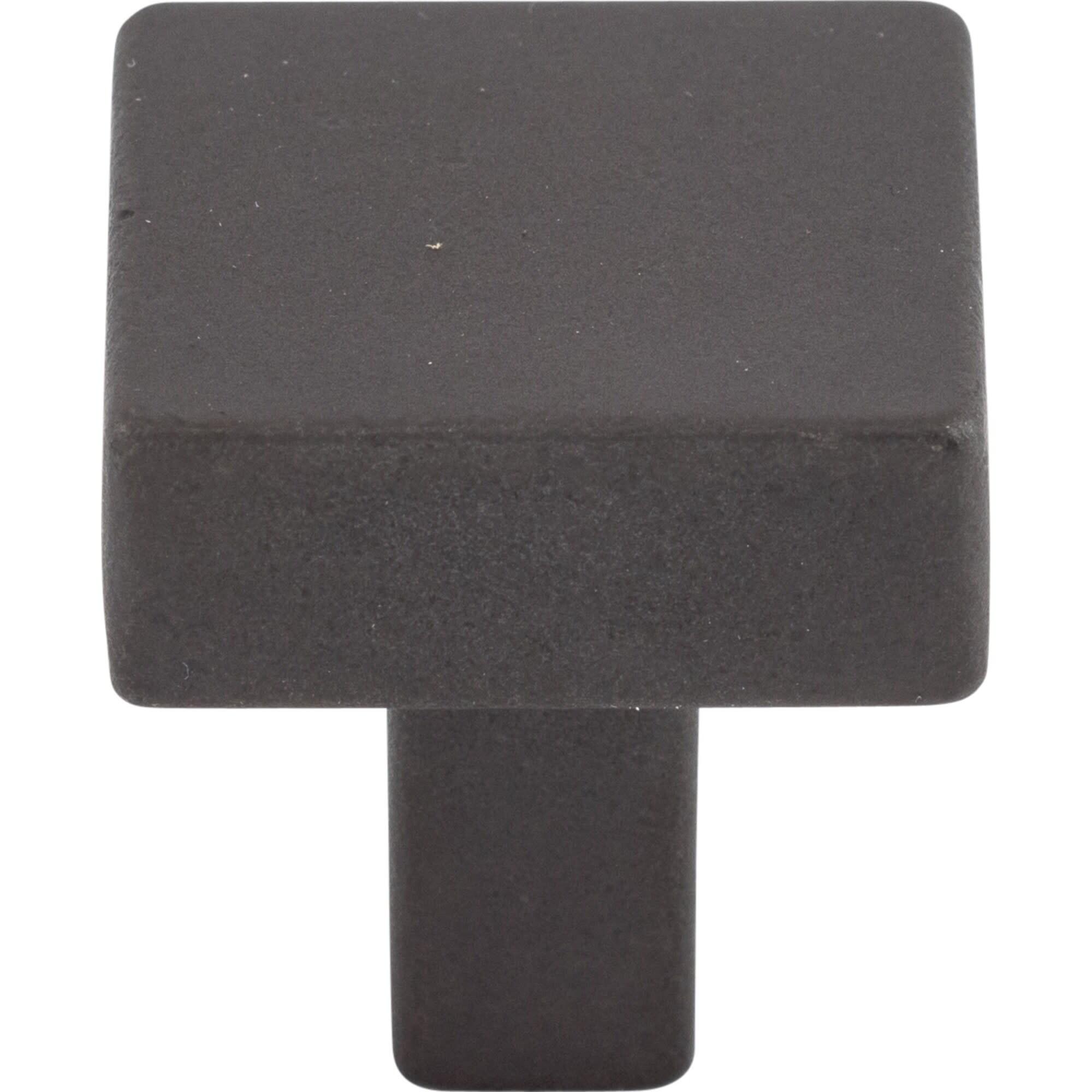 "Cabinet Hardware Square Knobs kO74 Satin Nickel 1-7//16/"""