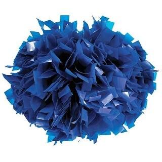 Pizzazz Royal Blue Plastic Cheer Single Pom Pom