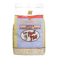 Bob's Red Mill Gluten Free Quick Cooking Rolled Oats - 32 oz - Case of 4