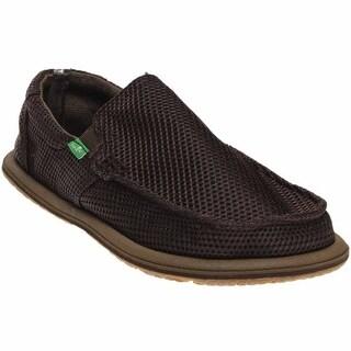Mens Sanuk Donny Chill Loafers Black Nordic PJX45331