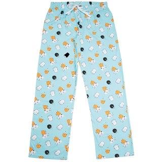Late Night Snacks Women's Pajama Lounge Pants Milk & Cookie - Drawstring Waist (4 options available)