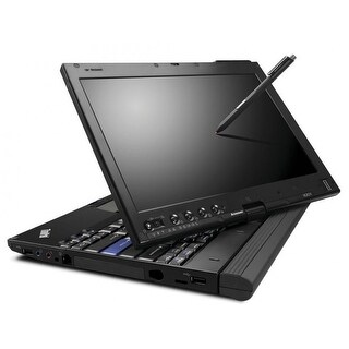 "Lenovo ThinkPad X200 12.1"" Black Refurbished Tablet PC - Intel Core 2 Duo 1.86 GHz 4GB SODIMM DDR3 80GB Windows 10 Home 64-Bit"