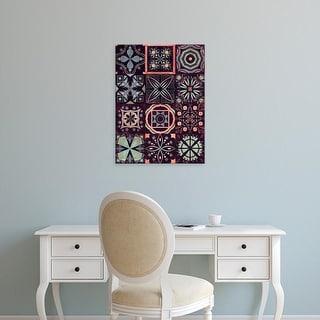 Easy Art Prints Victoria Borges's 'Kaleidoscope Tile II' Premium Canvas Art