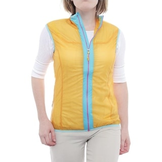La Sportiva Women Ether Windbreaker Vest Vest Yellow