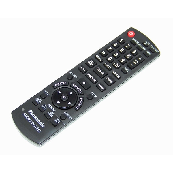 OEM Panasonic Remote Control Originally Shipped With: SAPM38, SA-PM38, SAPM42, SA-PM42