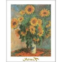 ''Sunflowers, 1881'' by Claude Monet Huntington Graphics Art Print (28 x 22 in.)