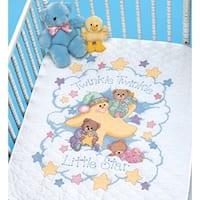 "34""X43"" - Twinkle Twinkle Quilt Stamped Cross Stitch Kit"