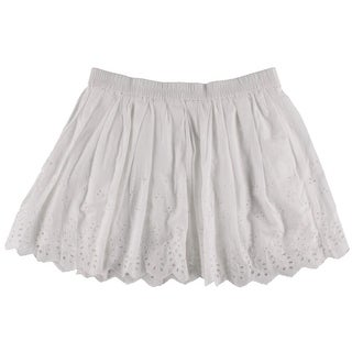 Denim & Supply Ralph Lauren Womens Eyelet Mini A-Line Skirt - L