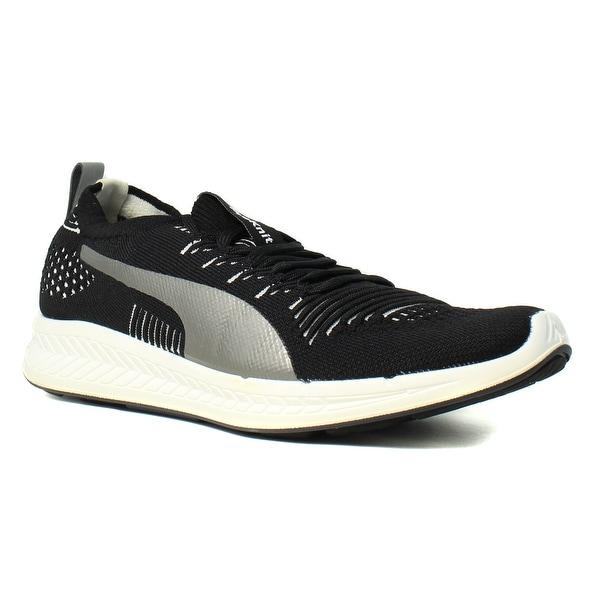 Shop PUMA Mens Ignite Proknit Black Running Shoes Size 7 - Free ... 67b653791