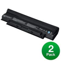 Replacement Battery For Dell Inspiron N5010R Laptop Models - J1KND (4400mAh, 11.1v, Lithium Ion) - 2 Pack