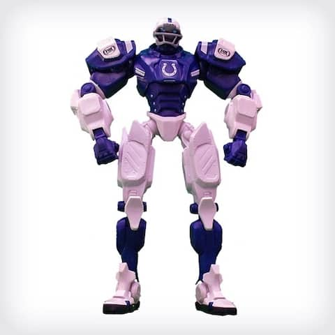 "NFL Indianapolis Colts 10"" Cleatus Fox Robot Action Figure - multi"