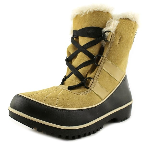 Sorel Tivoli II Women Round Toe Suede Tan Snow Boot