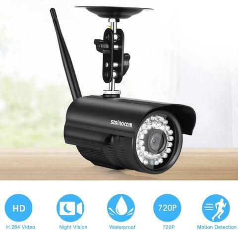 720P Waterproof WLAN Wireleess 1.0 Megapixel Security CCTV WiFi IP Camera