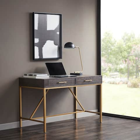 Martha Stewart Sharkey Morocco/ Gold Desk