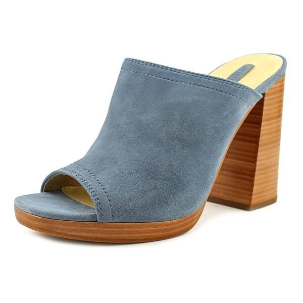 1ec028ddfec2 Shop Frye Karissa Mule Women Blue Mule Slides - Free Shipping Today ...