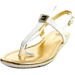 Marc Fisher Ademi Women Open-Toe Leather Slingback Sandal