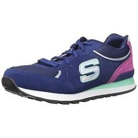 Skechers Womens OG 82 Flynn Suede Low Top Fashion Sneakers - 9 medium (b,m)