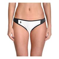 Polo Ralph Lauren Womens Contrast Trim Hipster Swim Bottom Separates