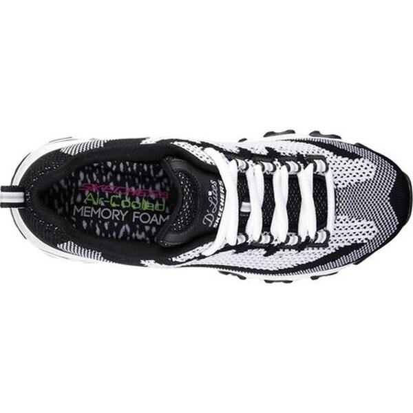 Shop Skechers Women's D'Lites Reinvention Sneaker Black