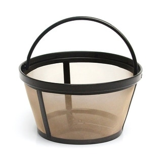 Premium Mr. Coffee Reusable Basket Style Filter Replacement, Replaces Mr Coffee 8-12 Cup Basket Filters, BPA Free (1 Pack)