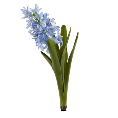 "13"" Hyacinth Artificial Flower (Set of 4)"
