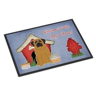 Carolines Treasures BB2772JMAT Dog House Collection Mastiff Indoor or Outdoor Mat 24 x 0.25 x 36 in.