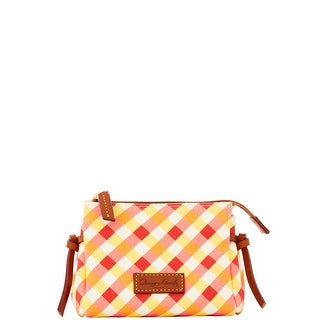 Dooney & Bourke Elsie Collection Cosmetic Case (Introduced by Dooney & Bourke at $48 in May 2016) - orange yellow