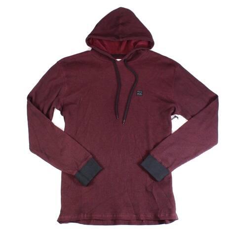 Billabong Mens Hoodie Small Keystone Pullover Textured