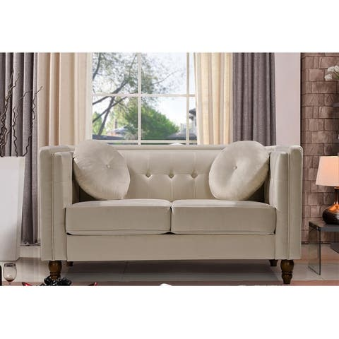 Angie Classic Kittleson Chesterfield Loveseat