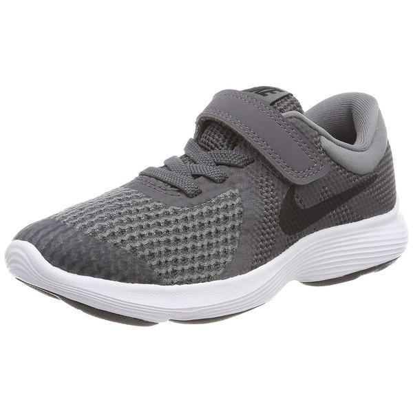 ebc0fa1840a4a Shop Nike Boys Revolution 4 (Psv) Running Shoe, Dark Black-Cool Grey ...