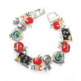 School theme magnetic bracelet