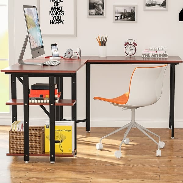 Large L Shaped Desk 67 Modern
