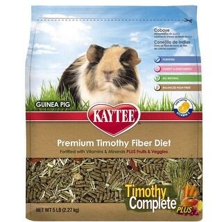 Kaytee Timothy Complete Plus Fruit Vegetables Guinea Pig 5lb