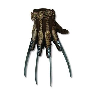 Nightmare On Elm Street Freddie Adult Costume Deluxe Glove