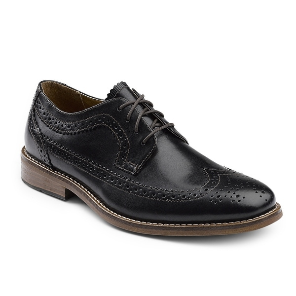 G.H. Bass & Co. Mens Clinton Leather Wingtip Oxford Shoe