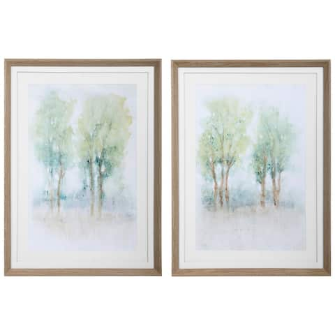 Uttermost Meadow View Framed Prints (Set of 2)