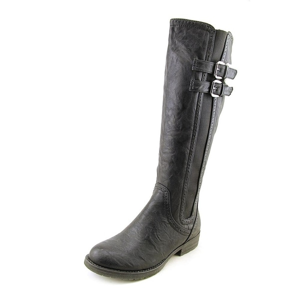 Patrizia By Spring Step Northener Women Round Toe Leather Knee High Boot