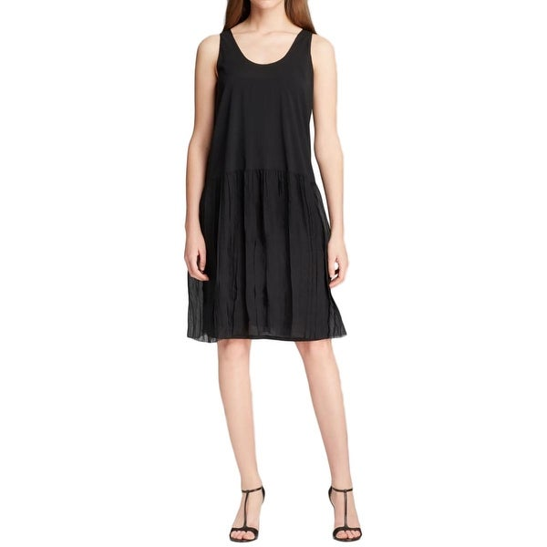 Eileen Fisher Womens Tank Dress Silk Sleeveless