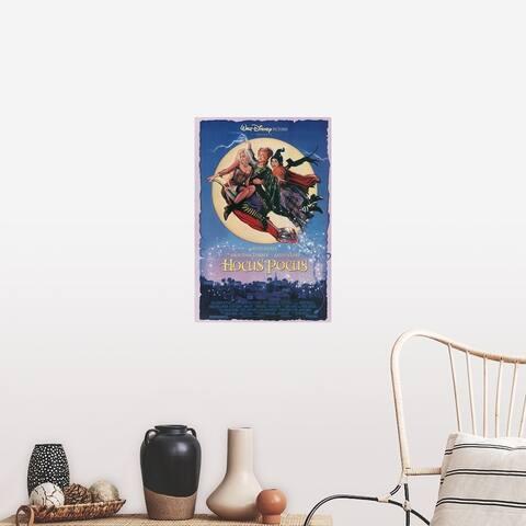 """""""Hocus Pocus (1993)"""" Poster Print"""